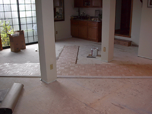 Marin County Kitchen Flooring
